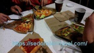 ホールフーズマーケットのピザ