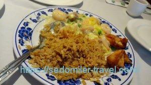 ランチセット(海老と卵)