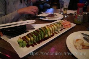 Caterpillar Roll(ウナギとアボカド)