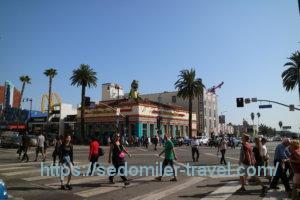 ハリウッドの交差点
