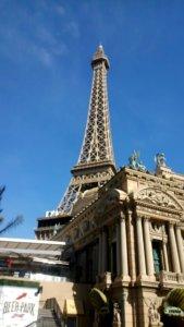 パリスホテルのエッフェル塔
