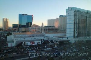 The Westin Las Vegas Hotel & Spa(ザ ウェスティン ラスベガス ホテル カジノ & スパ)からの眺め